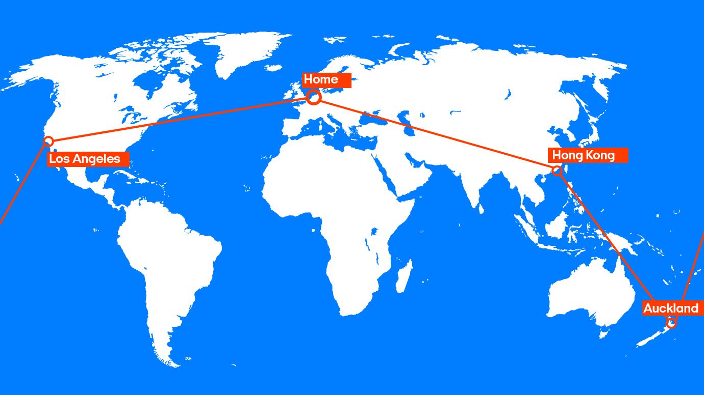 Boek jouw wereldreis en wereldticket bij KILROY