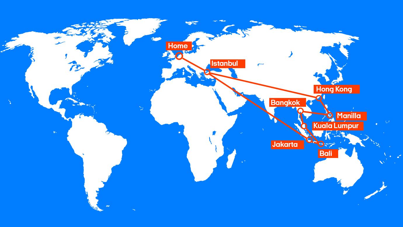 Vliegtickets malediven