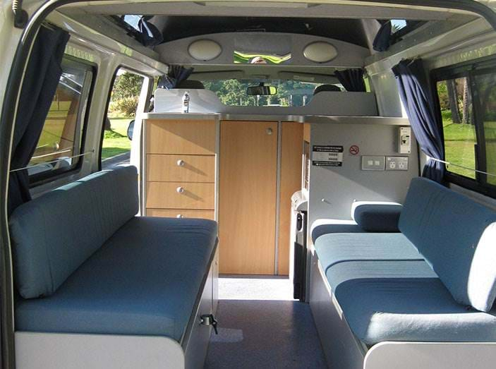 Hi-Top campervan | Interieur