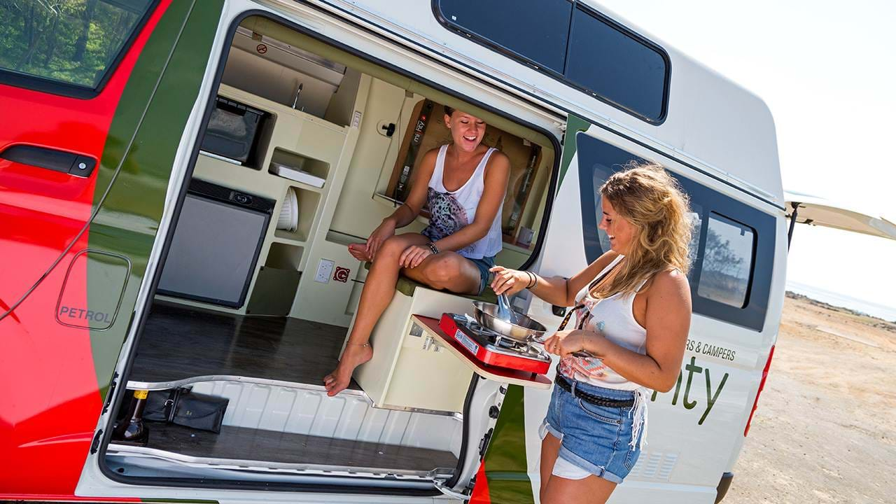 Jackpot Campervan | On the road